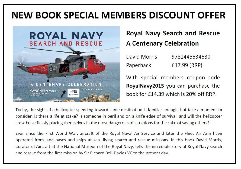 CGA Offer for Royal Navy Rescue Book
