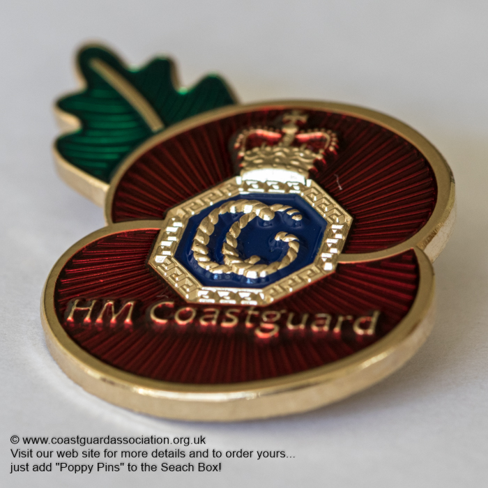 HM Coastguard Poppy