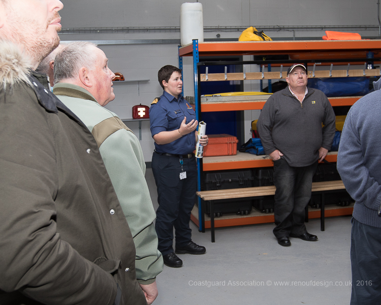 Tour of the training facilities at the Maritime and Coastal Agency Training Centre